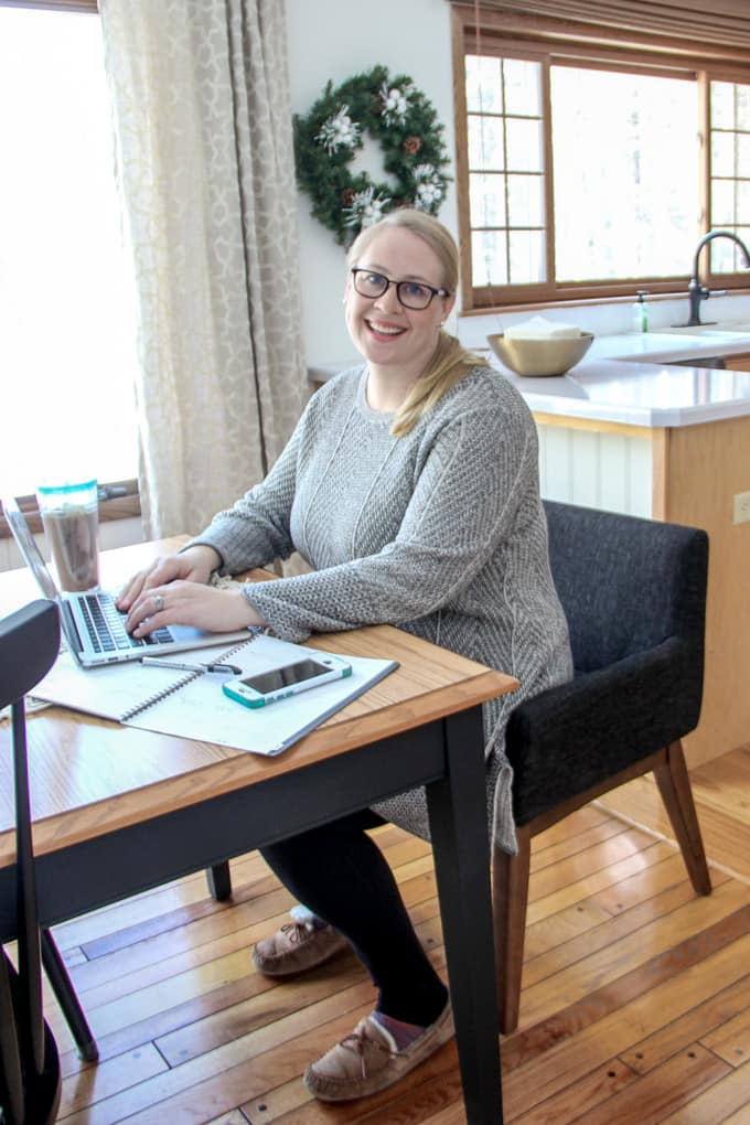 Jess McGurn from BrightGreenDoor Winter Dining Room and Some New Furniture