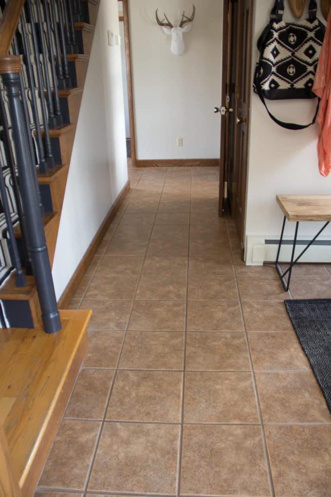 Painting Floor Tiles