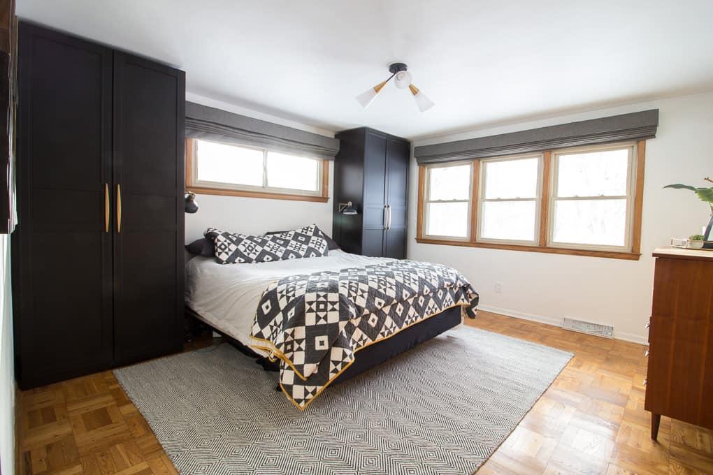 Ikea Pax Wardrobes For The Master Bedroom Bright Green Door