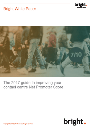 Box Image White paper: The 2017 guide to improving your contact centre Net Promoter Score