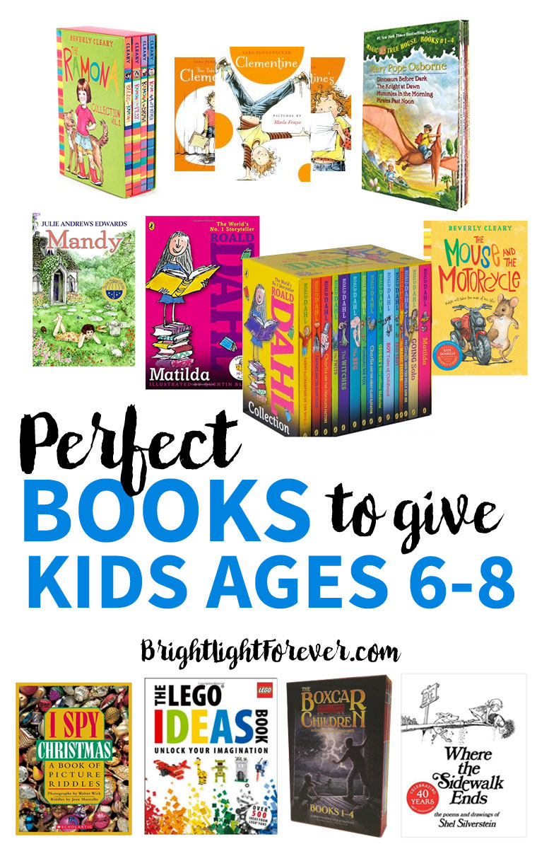 Wonderful list of books for kids ages 6-8 | First and second grade books