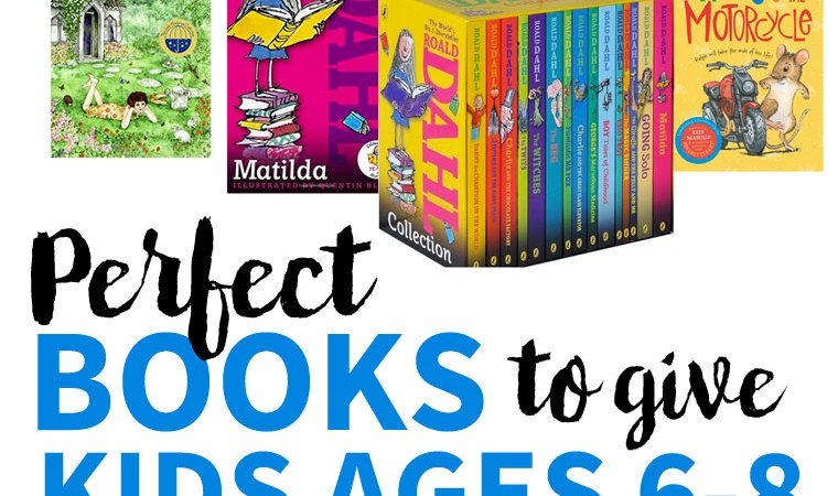 Gift Guide: The Best Book Gifts for 6-8 Year-Olds