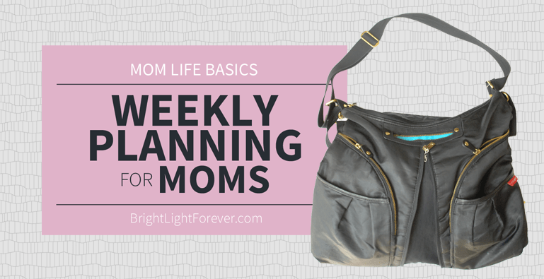 Weekly Planning for Moms: Building a Time Map
