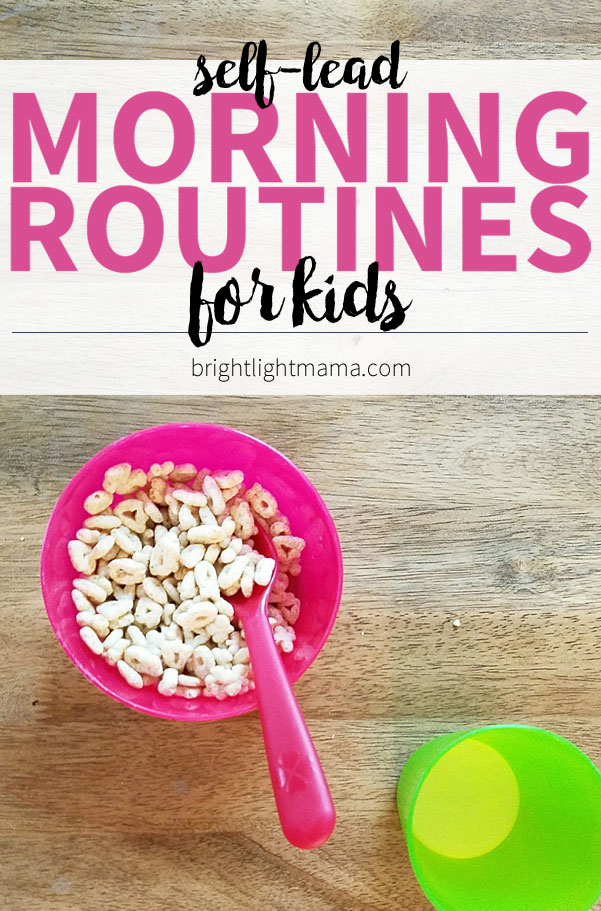 Morning Routines for Kids