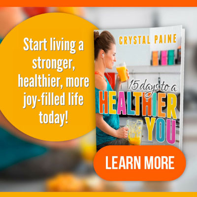 15 Days to a Healthier You Review - Three things I learned from 15 Days to a Healthier You e-course by Crystal Paine of Money Saving Mom. #healthyliving #health #healthy #lifestyle #moneysavingmom
