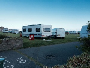 Travellers on Hove Lawns 20150429
