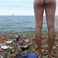 Nudist idea #94: Organize a beach cleaning event, naked
