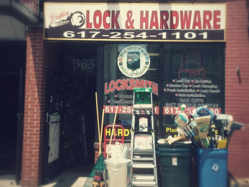 Brighton Locksmith & Hardware Shop - Mobile Services In Boston Area