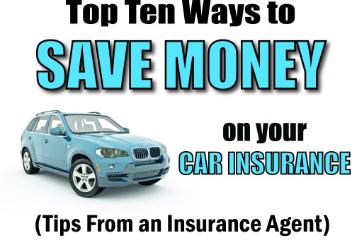 ten ways to save on car insurance