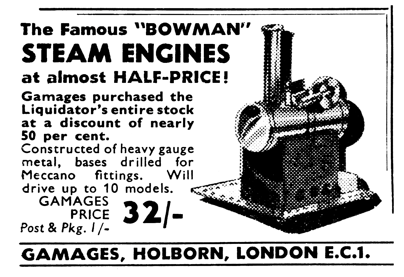 vintage engine names