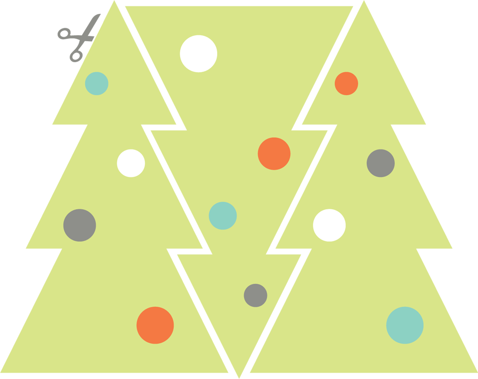 Bright Spot Studio DIY holiday tree
