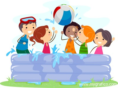 Water day bright star kid care llc for Two player swimming pool games