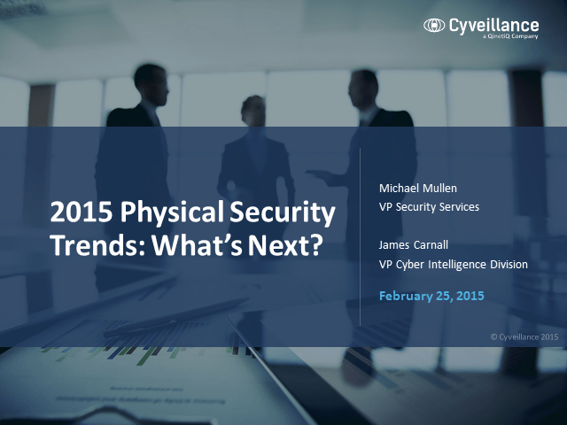 Physical Security Technology Trends