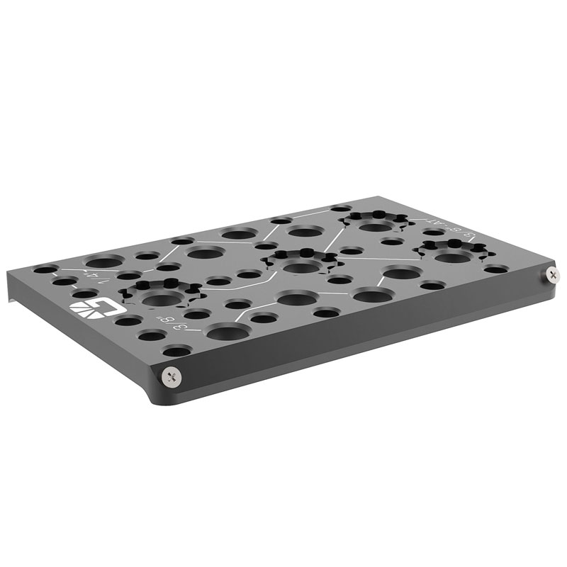 B4003.1008 Left Field Dovetail Plate 2