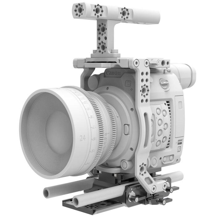 B4005.0001 Canon C200 LWS sliding Baseplate 10