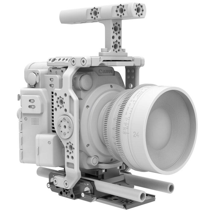 B4005.0001 Canon C200 LWS sliding Baseplate 9