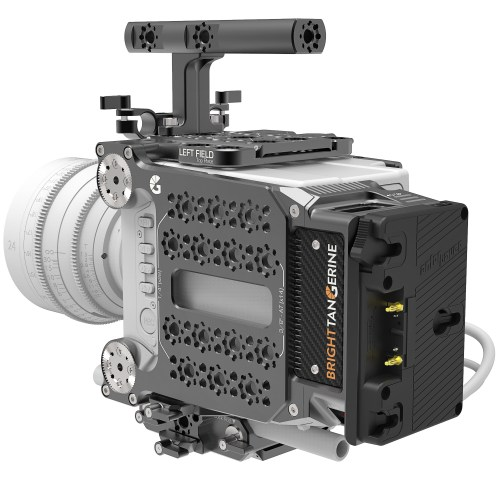 B4001.0006 Alexa Mini Left Field Cage Gold Mount 3