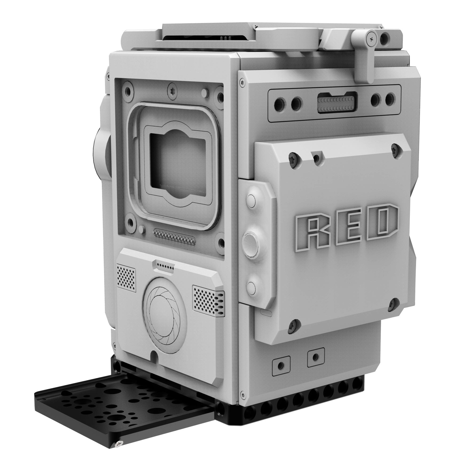 B4002 0001 Left Field Baseplate for DSMC2 3 2