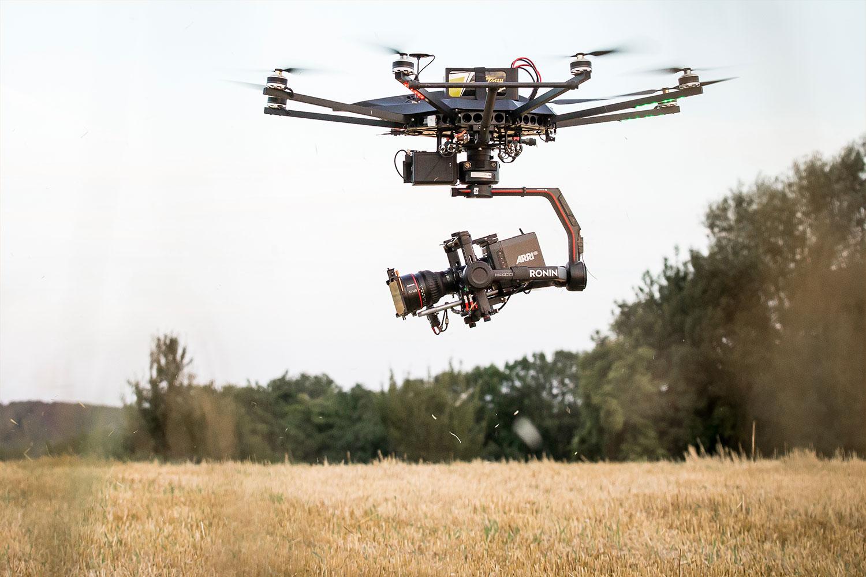Drumstix on The Black Drone dji ronin 2 200