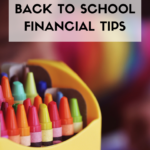 Back to School Financial Tips