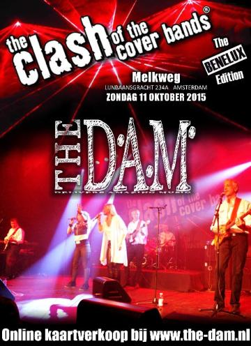 The Dam Clash of the Coverbands poster