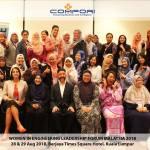 Women in Engineering Leadership form, Group photo 2018.08.28-29