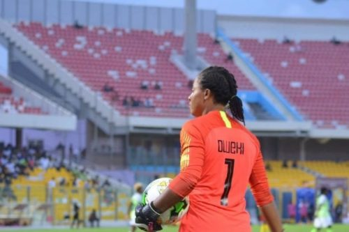 Super Falcons goalkeeper Oluehi joins Spanish club Pozoalbense - Latest Sports News In Nigeria