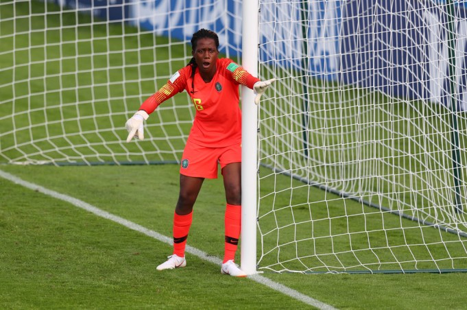 Super Falcons First Choice Goalie Chiamaka Nnadozie on Trial with  French Division 1 Feminine side