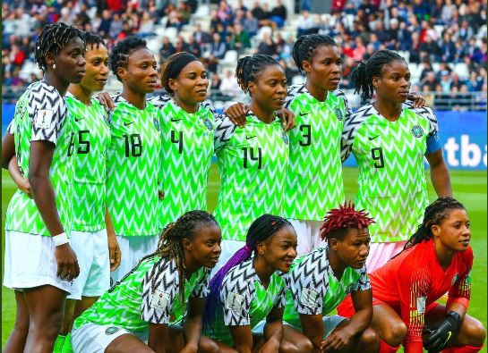 Proper Nigerian Africa Super Falcons France Fifa Women