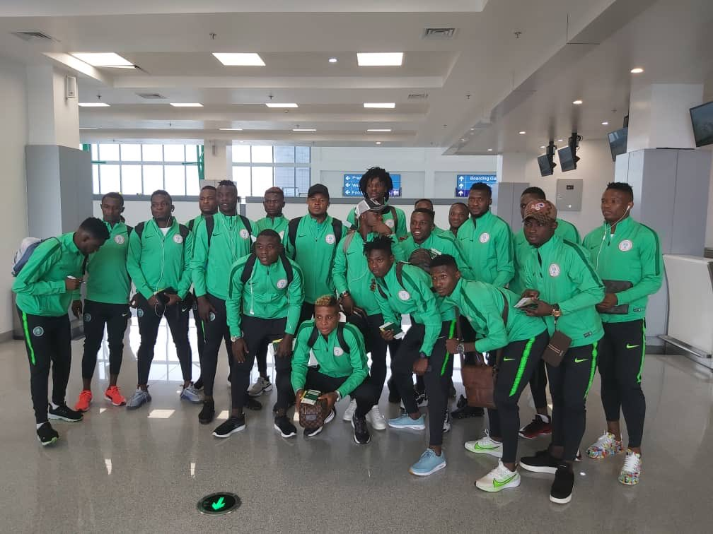Eagles Team B Arrives In Dakar For Wafu Cup Of Nations