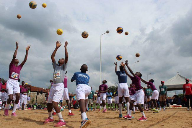 Nigeria Volleyball Federation Ambassador Diaspora Babatunde Omisore Lagos