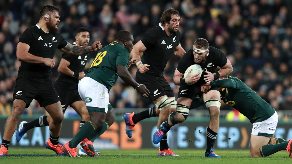 All Blacks Take Rugby Top Ranking Back After Win Over South Africa