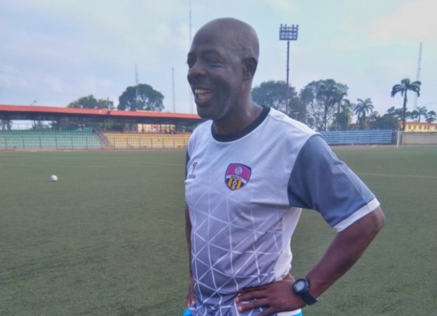 MFM FC coach Tony Bolus hopes to pick up his first home win