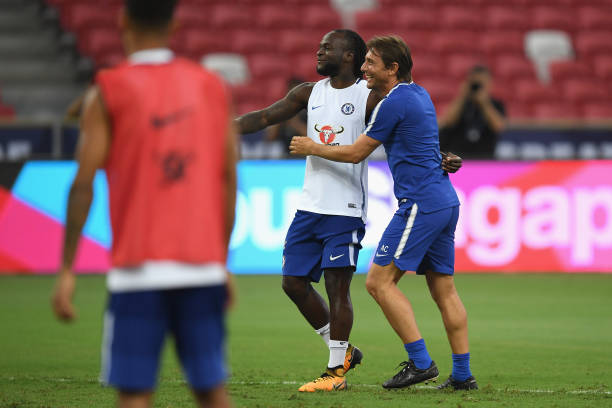 Victor Moses Set To Reunite With Former manager in Serie A