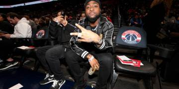 Davido Sits courtside, but His Magic Fails to Lift Wizards as Cavaliers put a Dent in their Playoff Chances - Latest Sports News In Nigeria