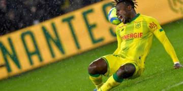 Simon Moses puts in the Shift for Nantes after initial Injury Fears - Latest Sports News In Nigeria
