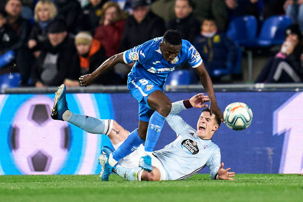 Etebo doubtful for Getafe clash against Villarreal - Latest Sports News In Nigeria