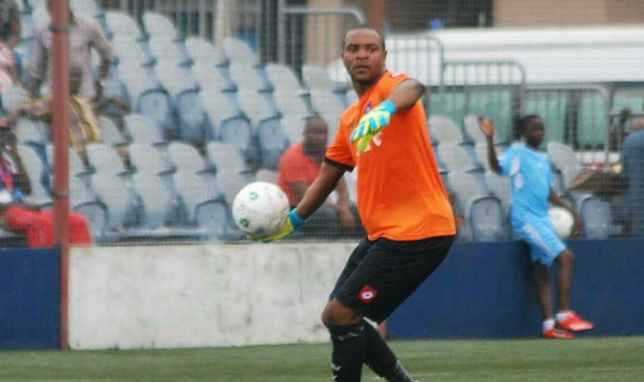 Abia Warriors goalkeeper Charles Tambe gives thanks to God after leaving hospital - Latest Sports News In Nigeria