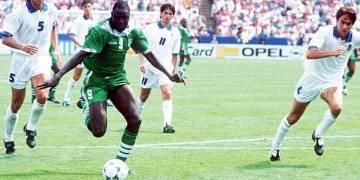 Despite scoring Nigeria's first World Cup aim, Ezeugo insists Yekini was not at USA '94 - Latest Sports News In Nigeria