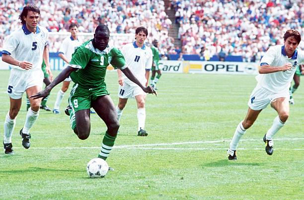 Despite scoring Nigeria's first World Cup aim, Ezeugo insists Yekini was not at USA '94 - Latest Sports News In Nigeria