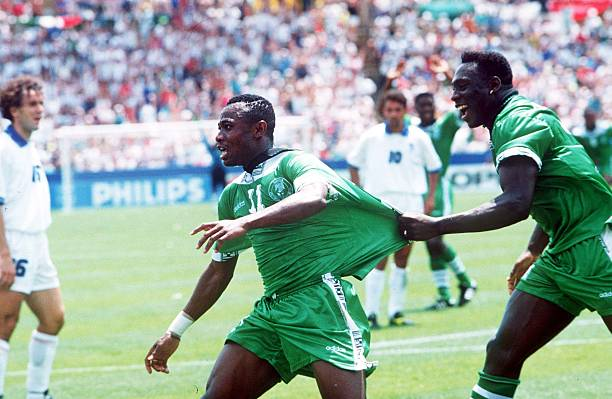 Amuneke Rubbishes claims Westerhof benefited off Players in Eagles as their Manager during 1994 FIFA World Cup - Latest Sports News In Nigeria