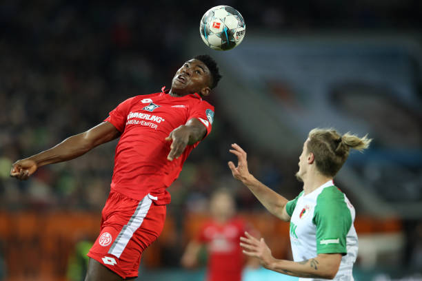Awoniyi commends German Referee Marco Fritz for saving his life vs Augsburg - Latest Sports News In Nigeria