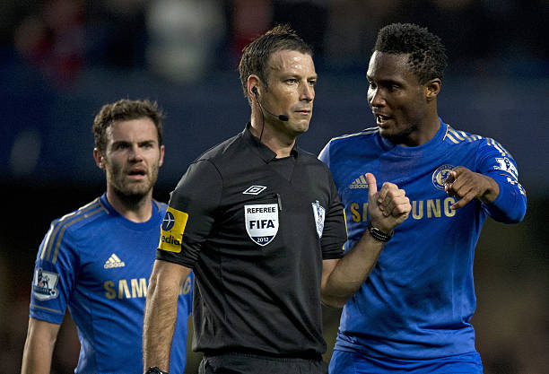 Eight years after - Clattenburg still waiting for Mikel's apology - Latest Sports News In Nigeria