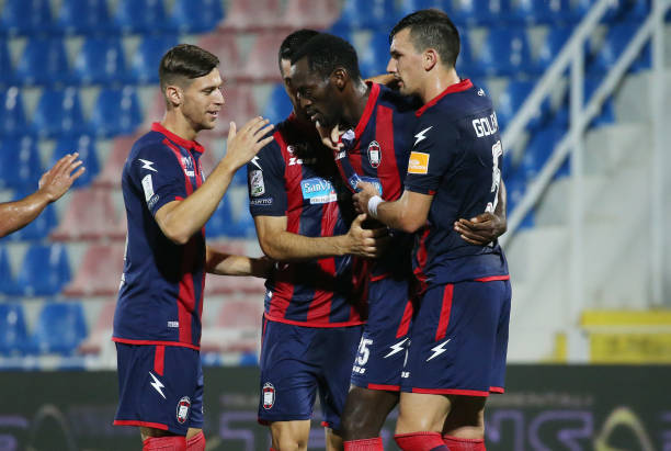 Simy Nwankwo bags hatrick as Crotone thump Benevento 3-0 - Latest Sports News In Nigeria