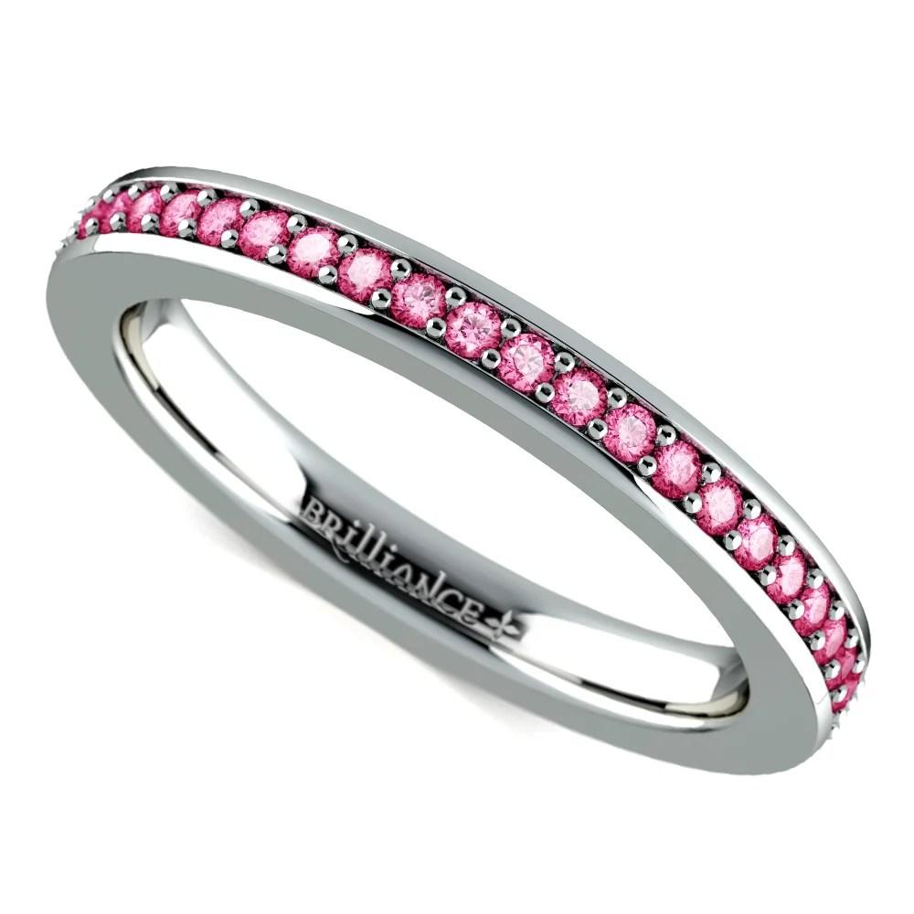 Pink Moissanite Earrings