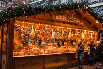 Gingerbread at the Lüneburg Christmas Market