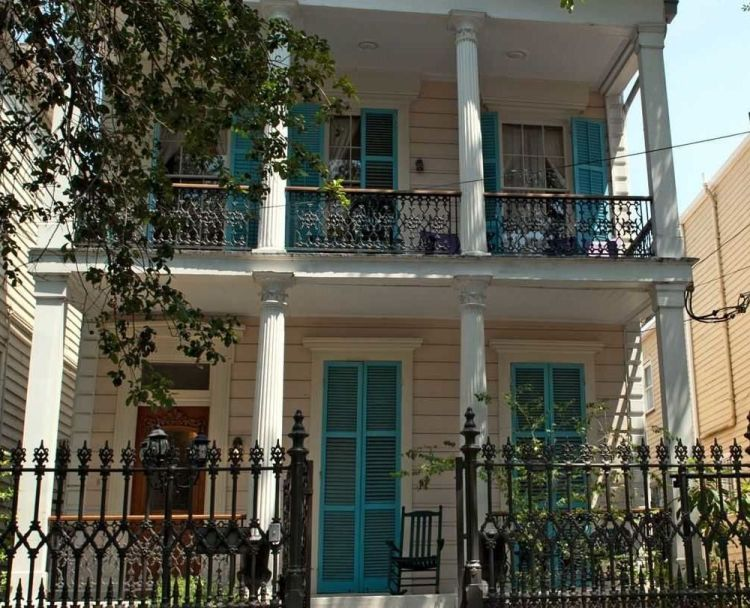 The Fairchild House in New Orleans, LA