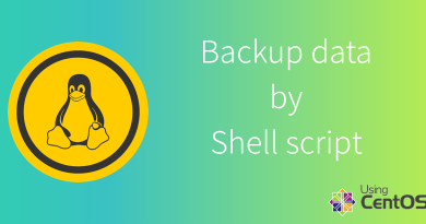 Backup website database by shell script