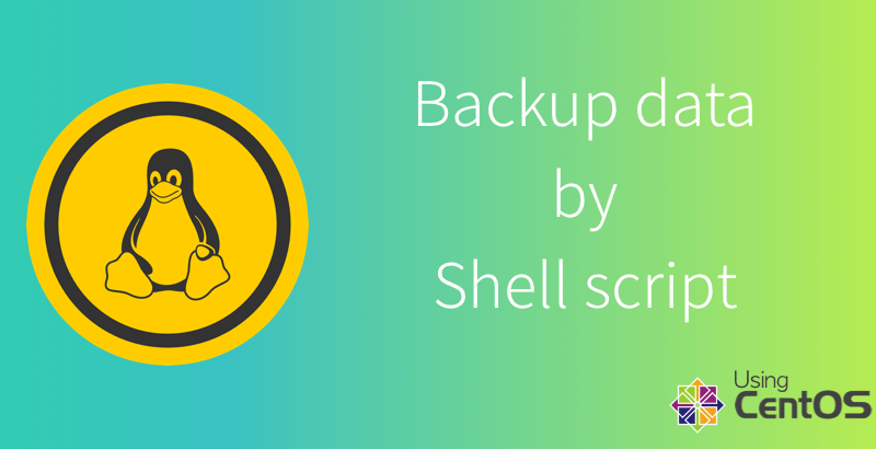 Backup website database by shell script