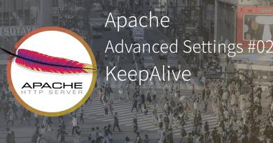 Apache advanced settings KeepAlive